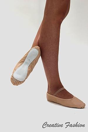 Kostov Sportswear - Zapatillas de Ballet - Suela completa Piel -negro- Talla 27