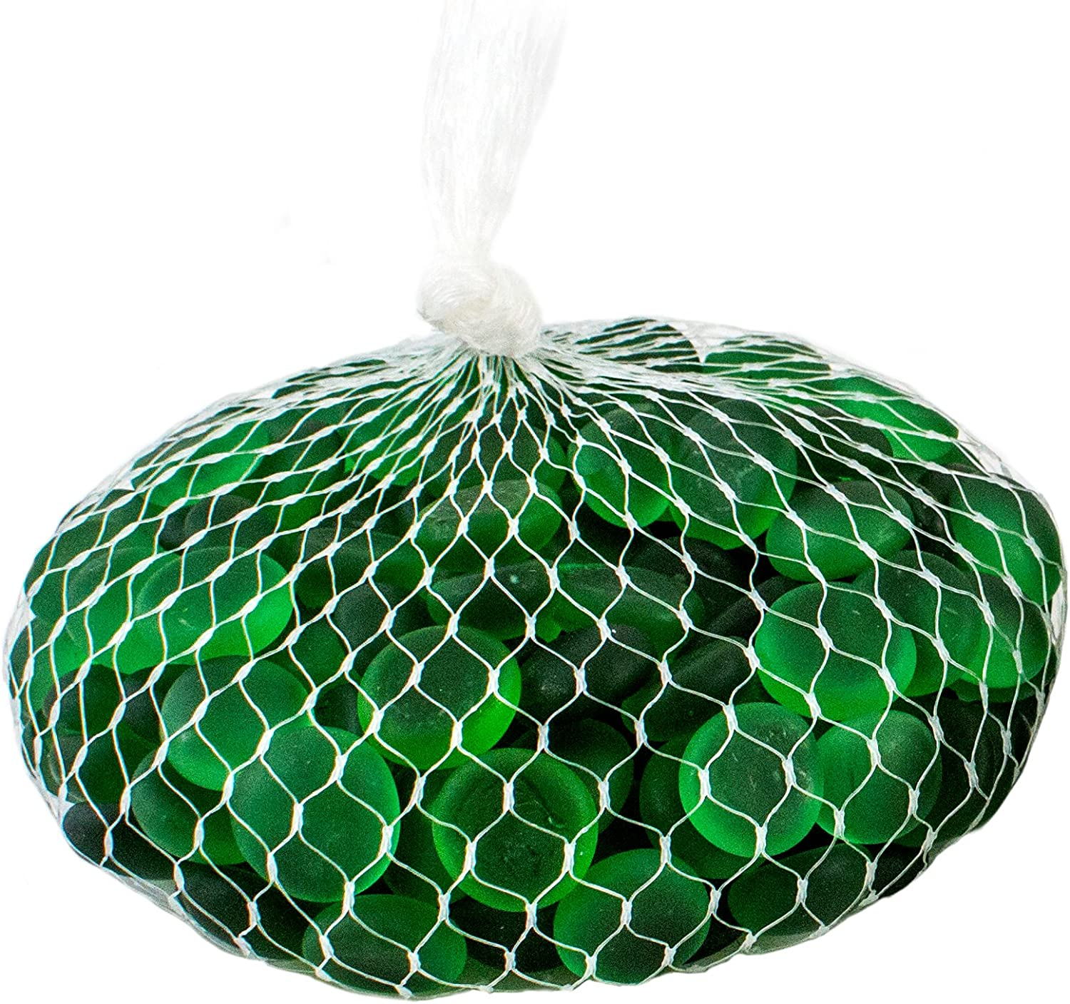 Supermoss 24133 Soft Glass Pebbles Vase Filler 2 Lb Emerald Green Garden Outdoor