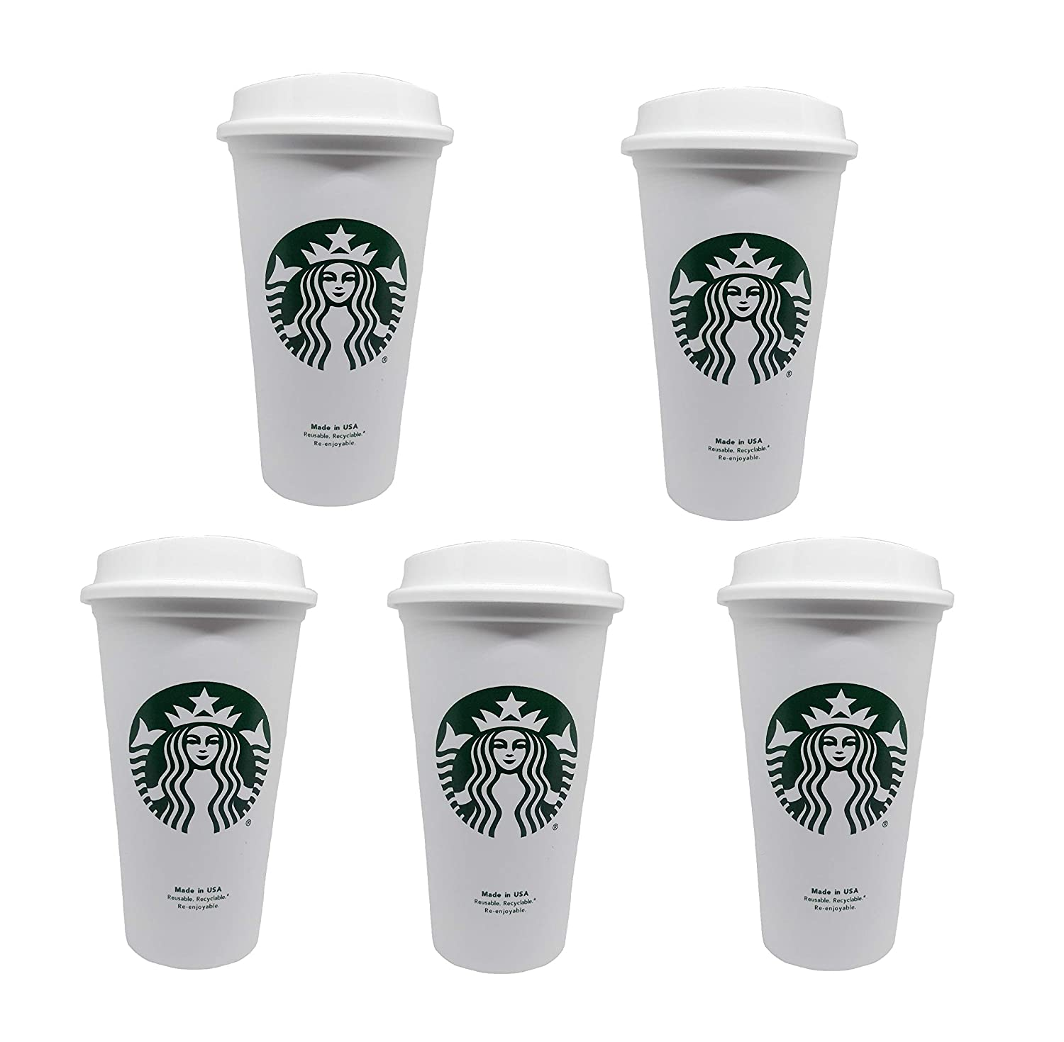 Starbucks Reusable Travel Cup To Go Coffee Cup Grande 16 Oz