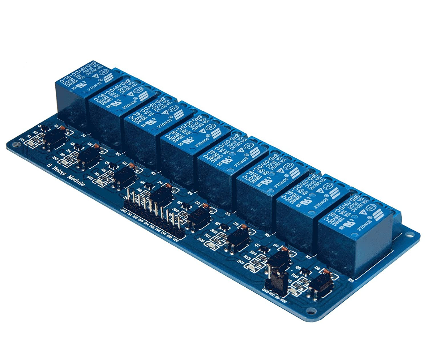 8 Channel Relay Module Progressive Automations LC-202
