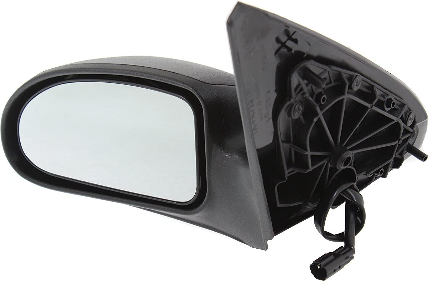 Mirror Compatible with 2000-2007 Ford Focus Power Textured Black Driver Side