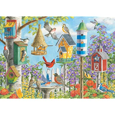 Ravensburger 16436 Home Tweet Home 300 Piece Large Pieces Jigsaw Puzzle for Adults - Every Piece is Unique, Softclick Technology Means Pieces Fit Together Perfectly: Toys & Games