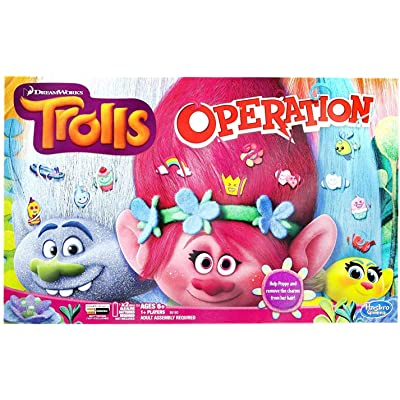 Trolls Operation Board Game: Toys & Games [5Bkhe0705999]