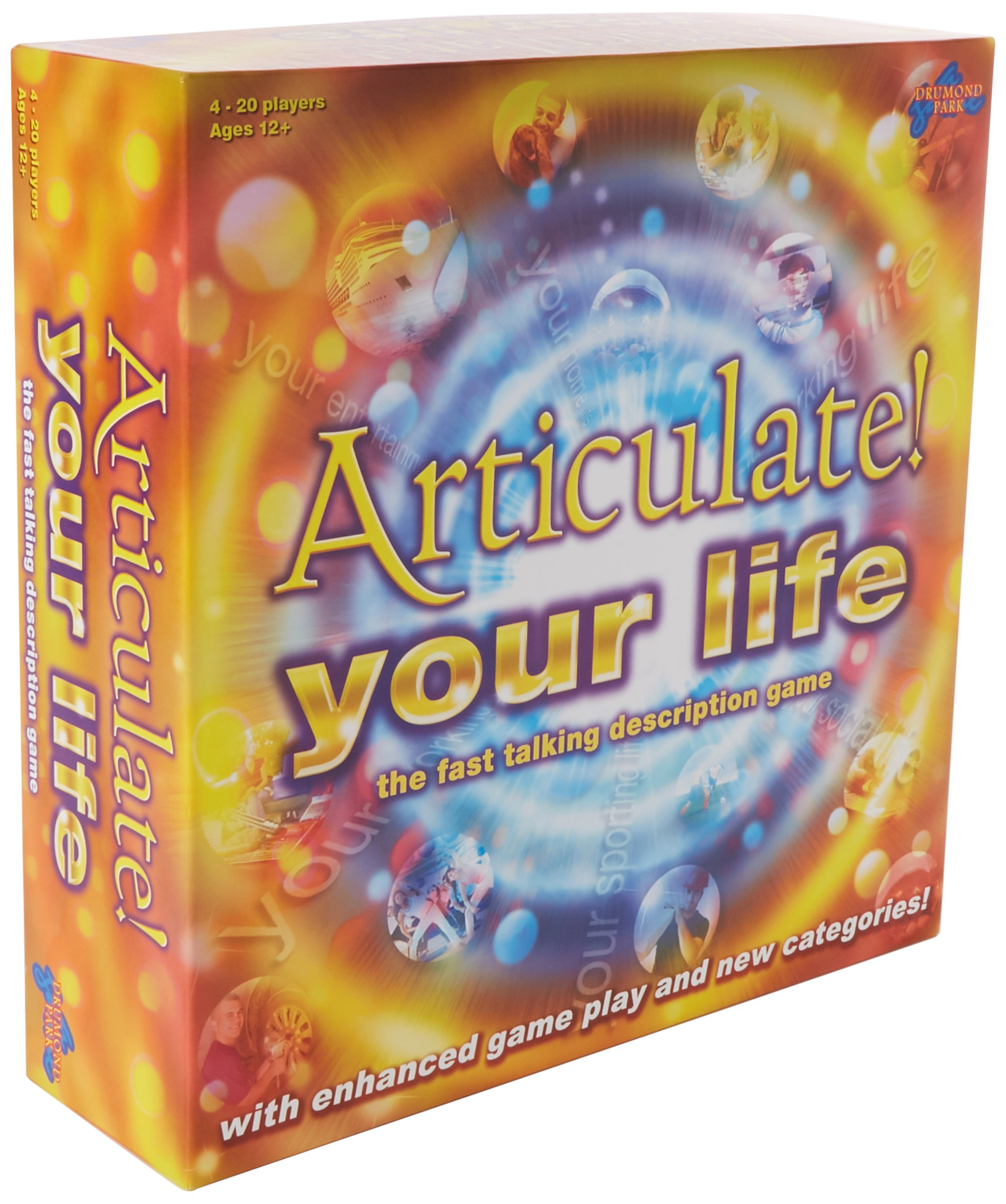 Drumond Park Articulate Your Life Family Board Game - The Fast Talking Description Board Game | Family Games For Adults And Kids Suitable From 12+ Years