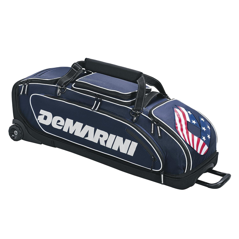 DeMarini SPECIAL OPS キャスター付きバッグ B01IOYOMXO ネイビー ネイビー