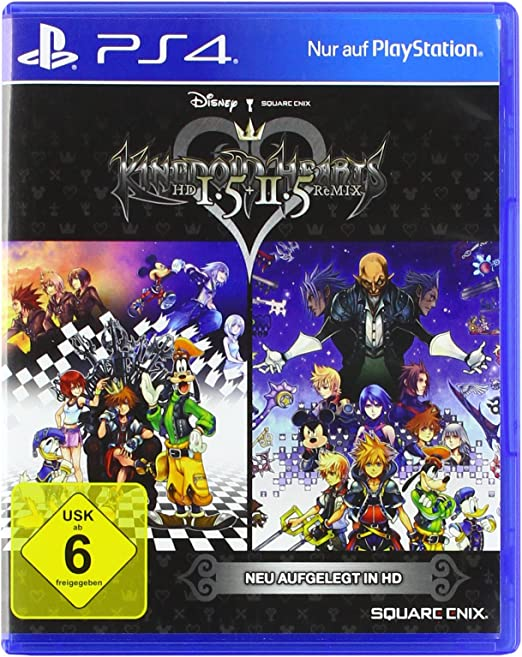 Kingdom Hearts HD 1.5 & 2.5 Remix [Importación alemana]: Amazon.es ...