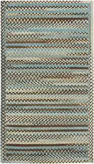 "product image for Kill Devil Hill Tan Hues 11' 4"" x 14' 4"" Cross Sewn Rectangle Braided Rug"