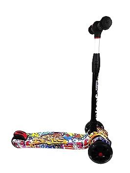 Kenrod Patinete 3 Ruedas para Niños entre 2 y 14 años con diseño Scooter Ruedas Led Sin Pilas