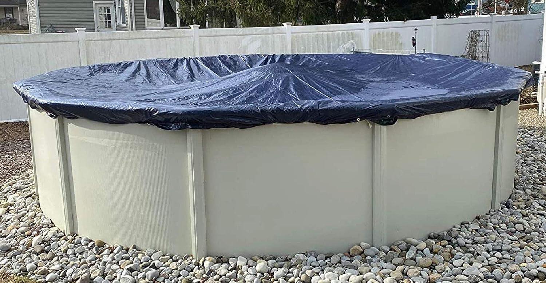 Winter Block Aboveground Pool