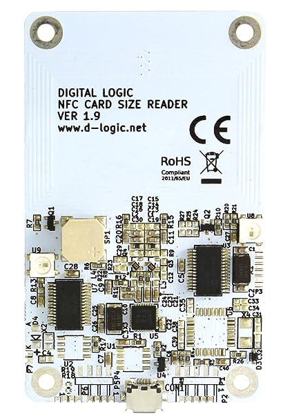 Amazon com: D-Logic uFR Classic CS OEM - NFC RFID Reader