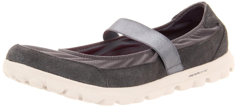 Todos Los Días Ir A Pie Mary Jane Zapatos Skechers Mujeres Negro tREFa