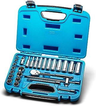 Drive 12-point SAE Deep Socket Capri Tools 3//8 in 1//4 in