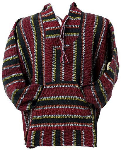 Amazon Com Ethnic Identity Premium Baja Hoodie Drug Rug Not From