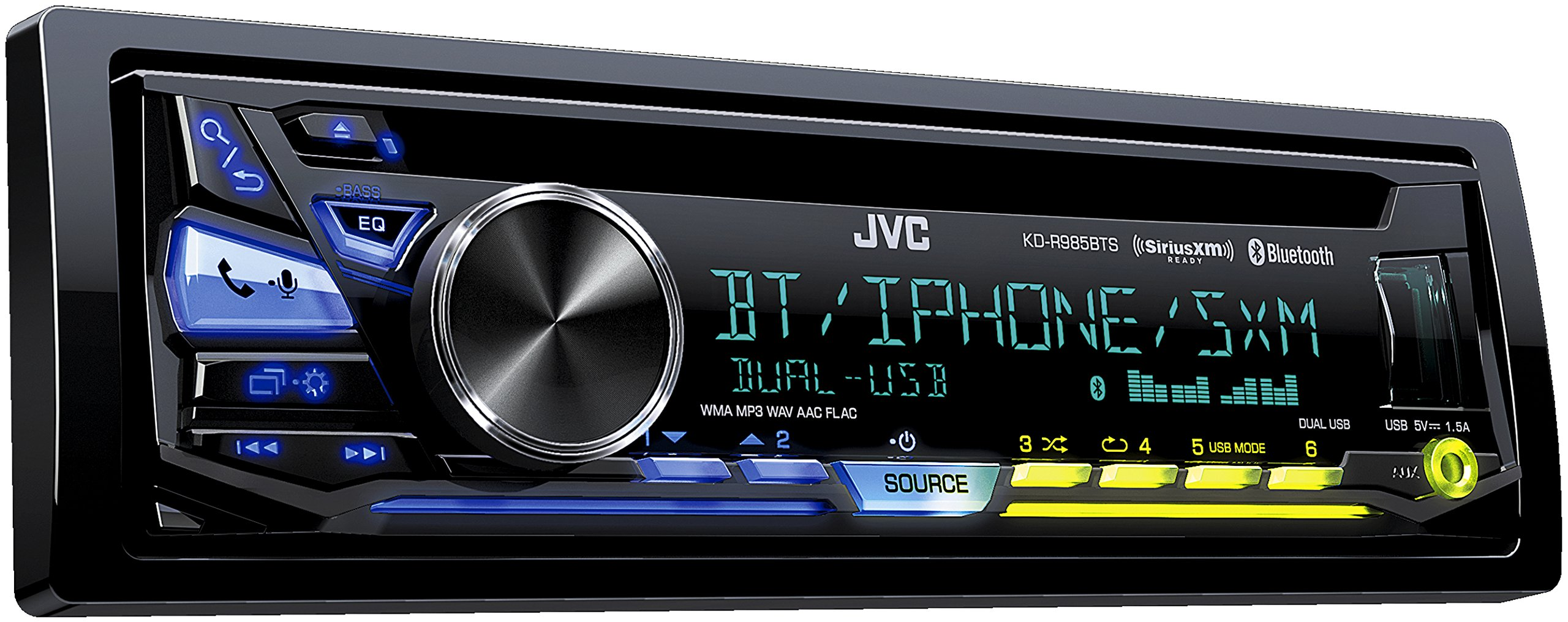 JVC KD-R985BTS CD Receiver