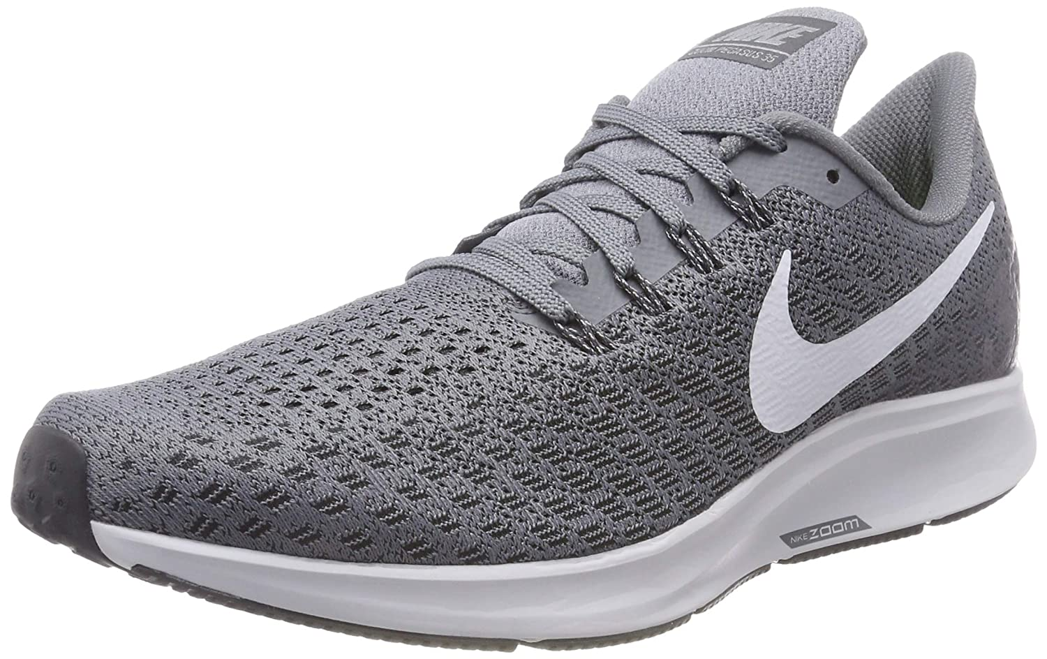 Amazon.com | NIKE Mens Air Zoom Pegasus 35 Running Shoe, Cool Grey/Pure Platinum-Anthracite, 11 | Road Running