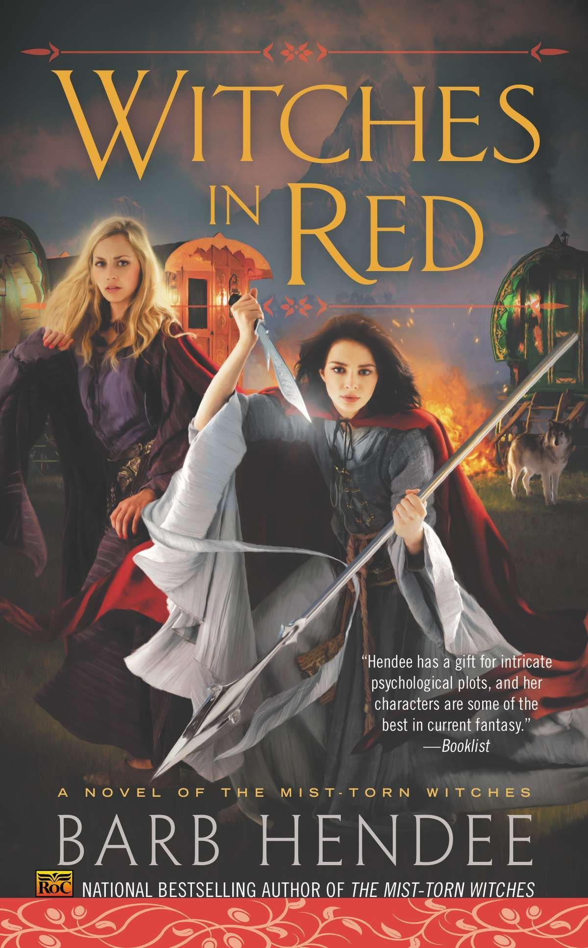 Witches in Red: A Novel of the Mist-Torn Witches pdf epub