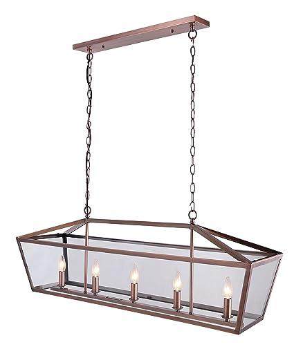 Amazon.com: Canarm ICH425A0316Milano lámpara de ...