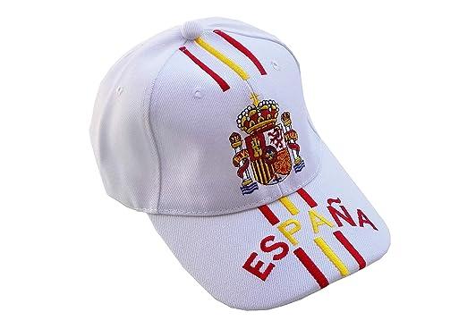 Gorra Escudo de España Mod.10 Blanca: Amazon.es: Ropa y accesorios