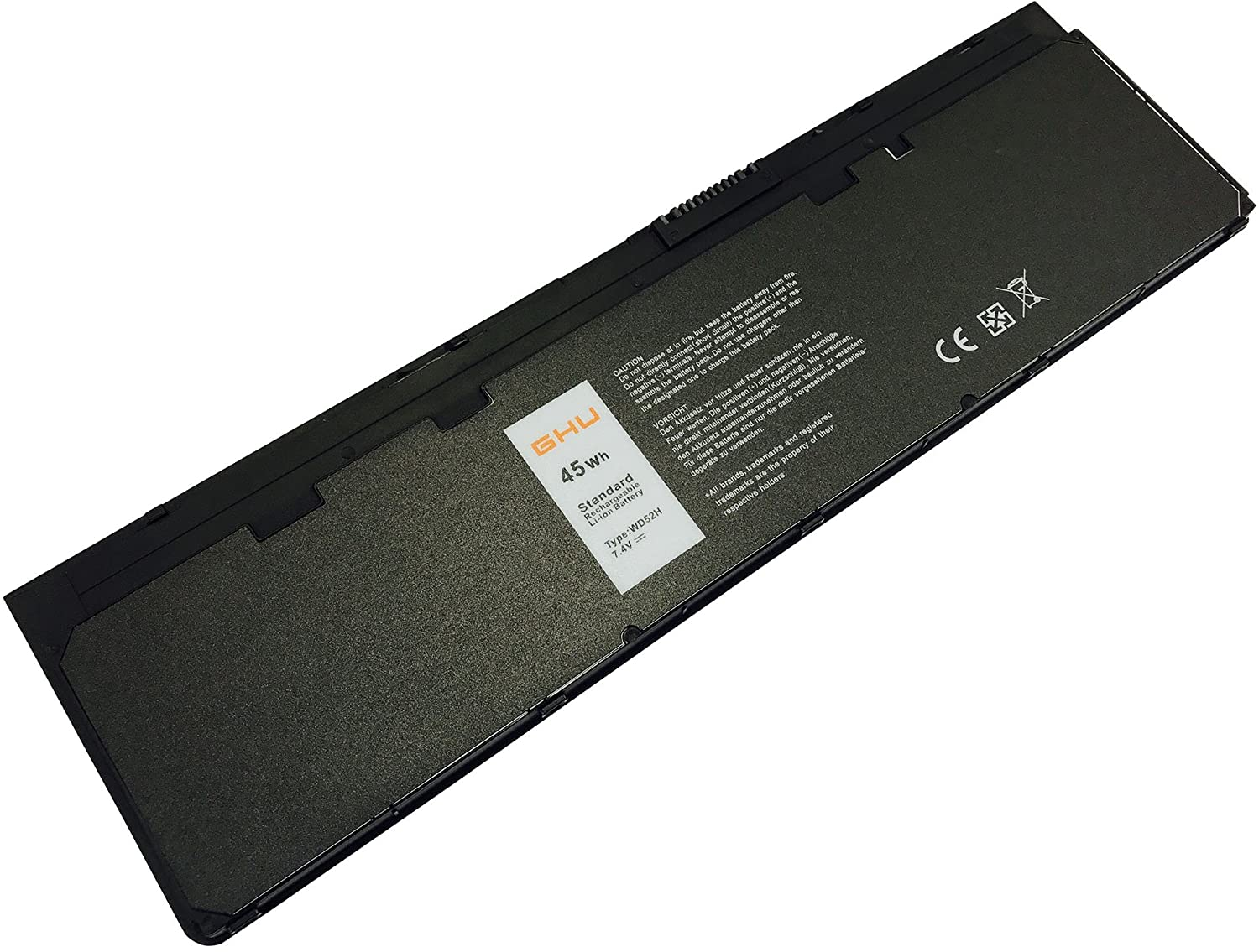 New GHU Battery 45 Wh Replacement for VFV59 HJ8KP F3G33 GD076 J31N7 0KKHY1 0KWFFN 0VFV59 0WG6RP Compatible for Dell Latitude Notebook Ultrabook E7240 E7250 Fit W57CV J31N7 WD52H ght4x