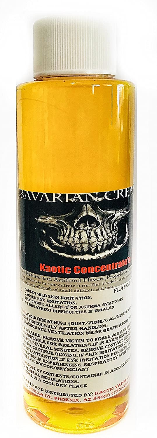 Kaotic Flavor Concentrate's, Food Grade USA (Bavarian Cream)