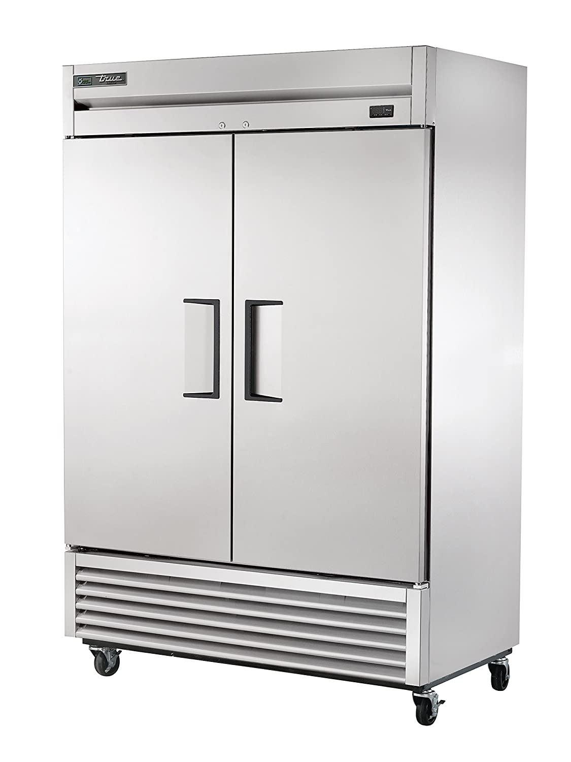 "True T-49F-HC Reach-in Solid Swing Door Freezer with Hydrocarbon Refrigerant, Holds -10 Degree F, 78.625"" Height, 29.875"" Width, 54.125"" Length"