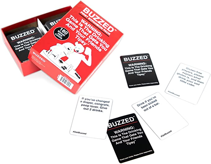The Best Buzzed Drinking Game Cards Quizlet Background