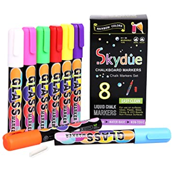 Check out this deal on Amazon! Get this 10-Color LINKYO Liquid Chalk Marker  Pens with Erasable Ink and Reversible Tips for only $13.95!