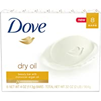 8-Pack Dove Beauty Bar (Dry Oil)