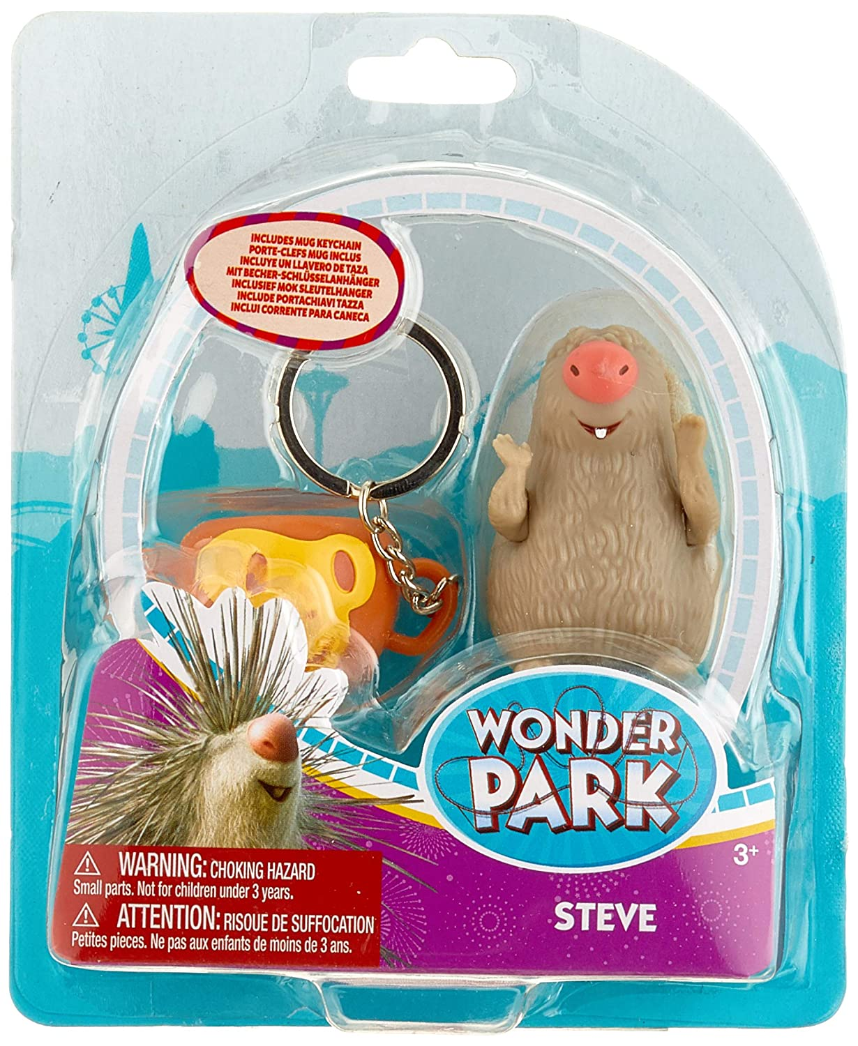 Amazon.com: Wonder Park 31042 Figure-Steve Playset Theme ...