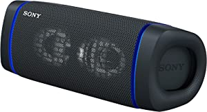 Sony SRS-XB33 EXTRA BASS Wireless Portable Speaker IP67 Waterproof BLUETOOTH and Built In Mic for Phone Calls, Black
