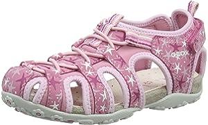 Geox Mädchen JR Roxanne C Geschlossene Sandalen