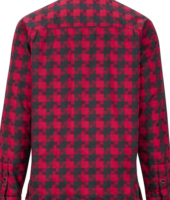 Marmot Herren Lang/ärmliges Outdoor-Hemd Wander-Shirt Mit Uv-Schutz Atmungsaktiv Ridgefield Ls