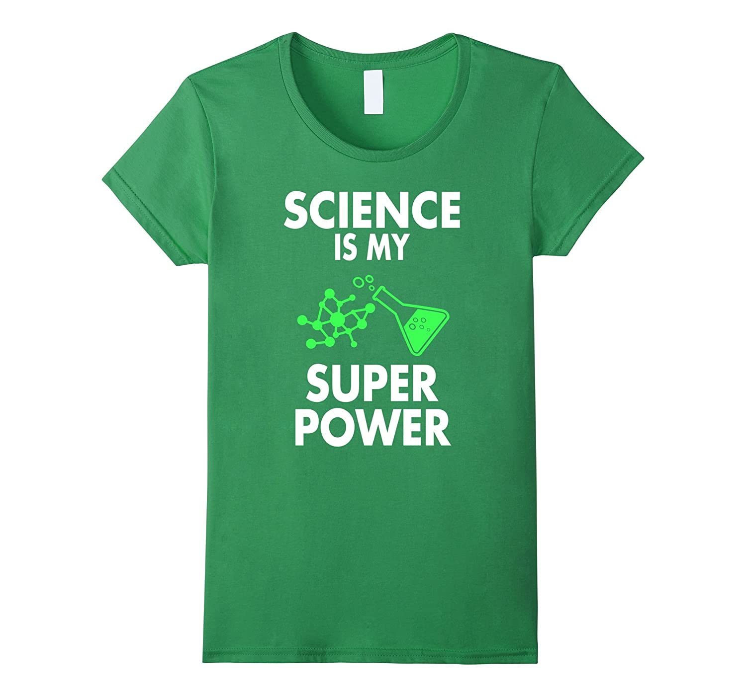 Funny Cool Science Is My Superpower Scientist Gift T-shirt-Yolotee
