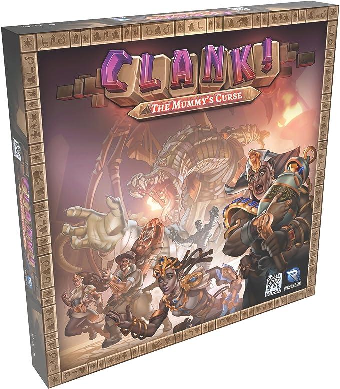 Imagen deRenegade Game Studios B0799BNL8R Clank: The Mummy'S Curse, Multicolor