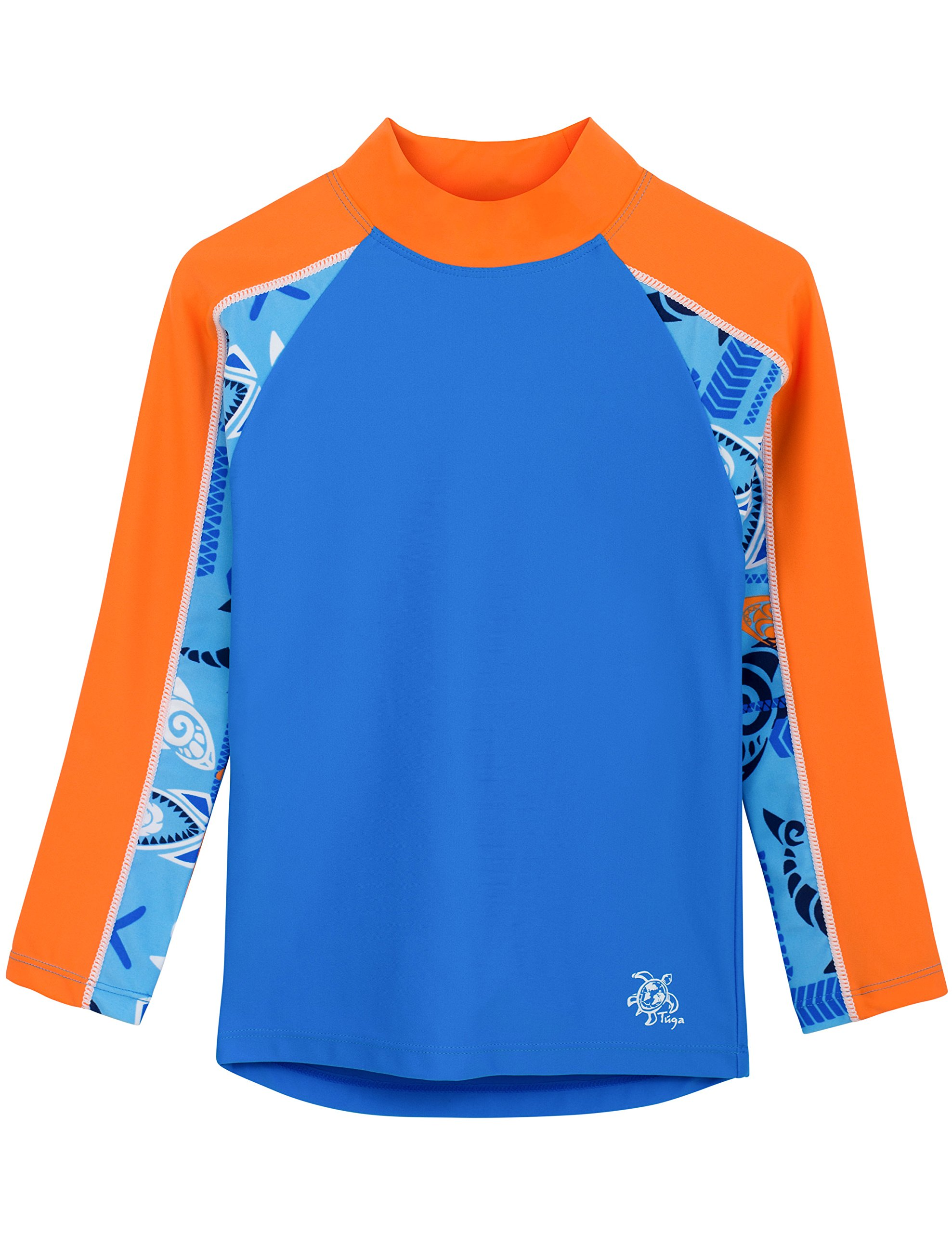 Tuga Boys Tube L/S Rash Guard (UPF 50+), Night, 8/10 yrs
