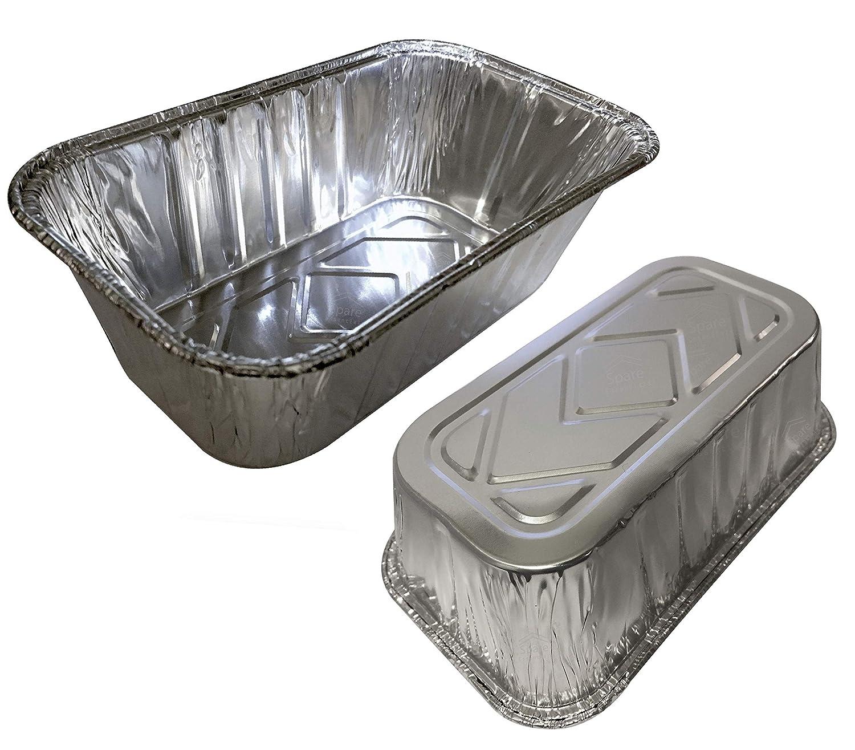 """35 Pack – 1LB Sturdy Mini Loaf Pans, Aluminum Loaf Pans, Bread Pans, Foil Loaf Pan l Cake Pan, Disposable Aluminum Pans l Top bakery's choice Tin Pans - 1 Pound - 6'' X 3.5"""" x 2"""""""