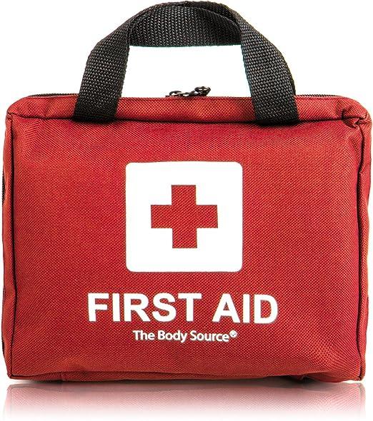 545 opinioni per Kit di primo soccorso di 90 pezzi con ghiaccio pronto uso, kit lavaggio oculare