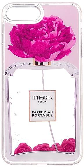 0698b90bc0 Amazon   [アイフォリア] iPhone 7 Plus/8 Plus対応 Perfume Flower Pink ...