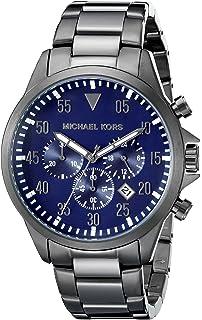9ea73be42fb6 Amazon.com  Michael Kors Men s Aiden Gunmetal-Tone Watch MK8418 ...