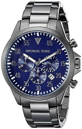 bc09f7ef494f Amazon.com  Michael Kors Men s Gage Gunmetal Watch MK8443  Michael Kors   Watches