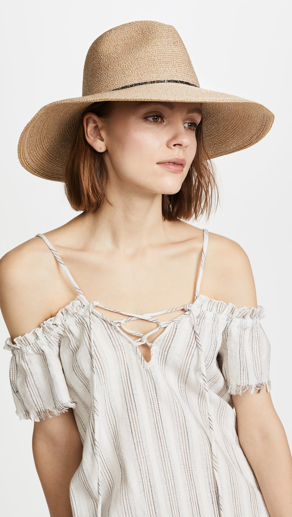 Eugenia Kim Women's Emmanuelle Beach Hat, Sand, One Size by Eugenia Kim (Image #2)