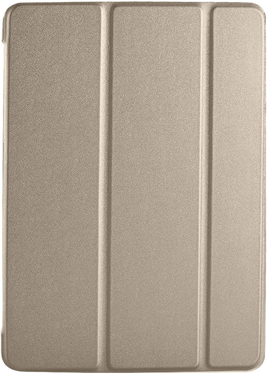 """DuraSafe Cases For iPad PRO / Air - 10.5"""" MQDX2LL/A MQDT2LL/A MQDW2LL/A MUUL2LL/A MUUK2LL/A MUUJ2LL/A MQDY2LL/A MUUT2LL/A Ultra Slim Cover with Auto Sleep/Wake function - Gold"""