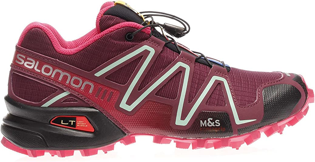 Salomon Speedcross 3 - Zapatillas de correr fuera de pista (trail running) para mujer, color multicolor, talla 37: Amazon.es: Zapatos y complementos