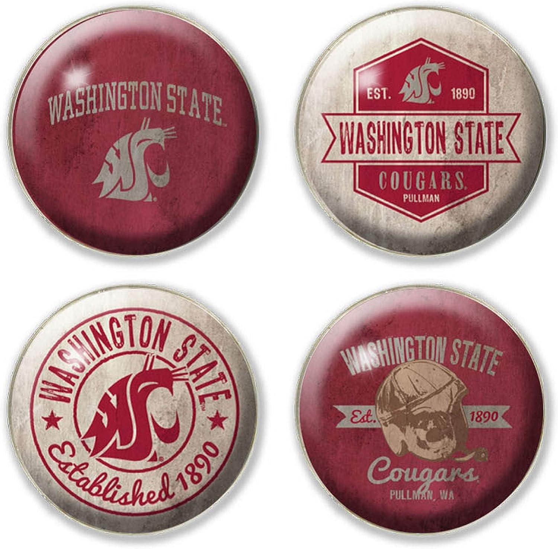 NCAA Legacy Purdue Boilermakers Fridge Magnet Pack One Size Custom