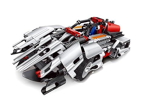 Amazon Com Brainnovative Rc Construction Racer Kit Build Your Own