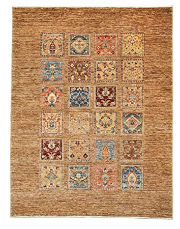 Nain Trading Arijana Bakhtiari 202x156 Orientteppich Teppich Beige
