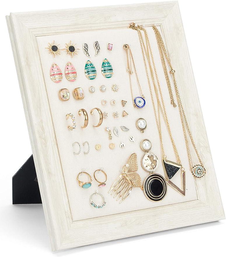 Art Deco Swing Picture Frame Earring Holder-small