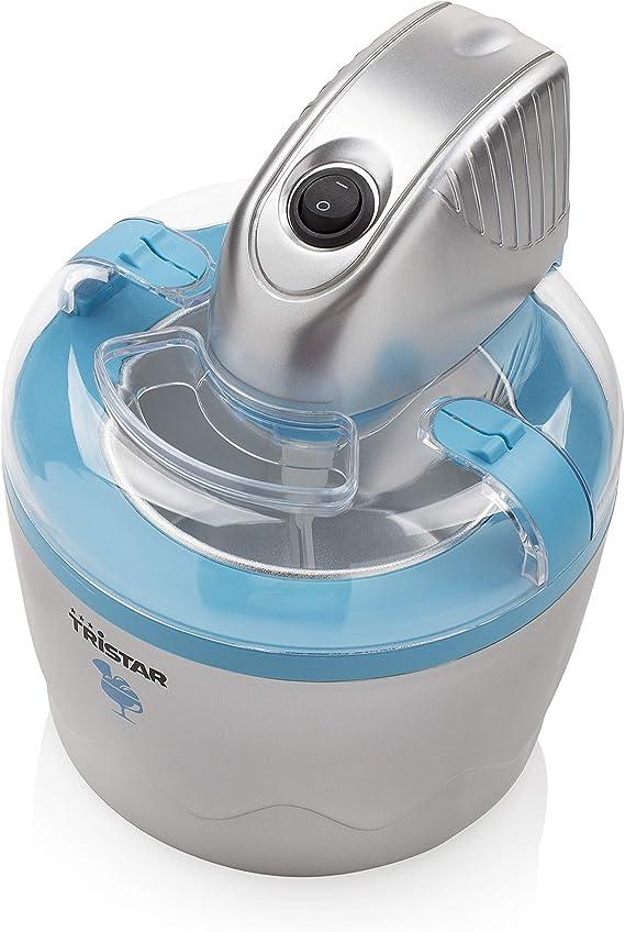 Tristar YM-2603 – Máquina de helados, capacidad 0,8 litros, fácil ...