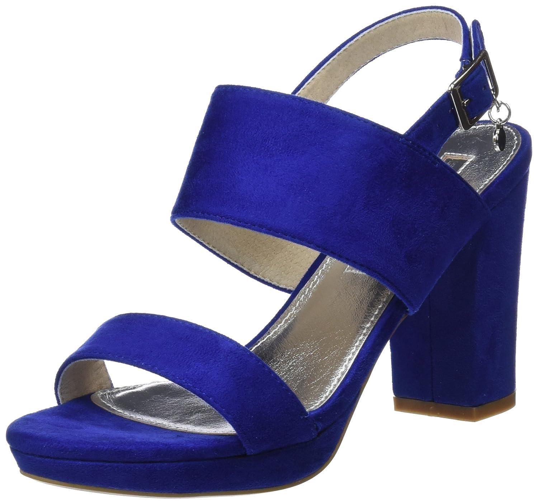 TALLA 36 EU. XTI 30753, Zapatos con Tacon y Correa de Tobillo para Mujer