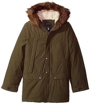 1894c36d7 Amazon.com  Joules Boys  Noah Parka Jacket  Clothing